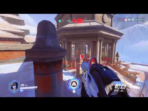 [4K 60FPS] Overwatch | Nepal Attack Gameplay | ULTRA GRAPHICS TITAN X SLI