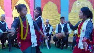बब्बाल नाच मगर्नी नानीहरु अनि मगर बाजा Magar panche baja butwal nepal