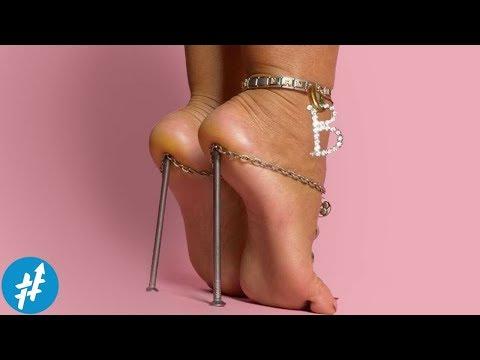Gak SAKIT Tuh? 9 Sepatu Wanita Paling Unik & NYELENEH Di Dunia