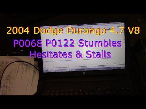 Dodge P0068 P0122 Stumble Stall