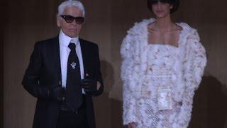 Cover images Haute couture: Chanel au naturel, dans un jardin zen