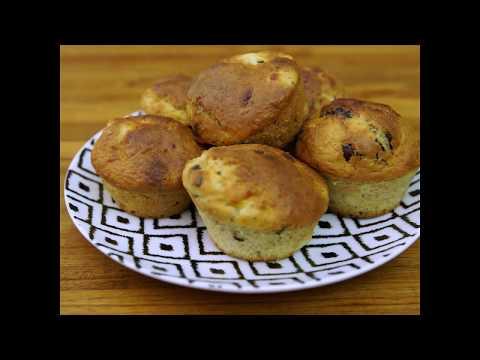 muffins-banane--chocolat,-gourmands-mais-légers---croq'kilos