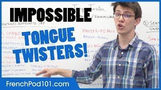 Improve Your Accent: French Tongue Twisters