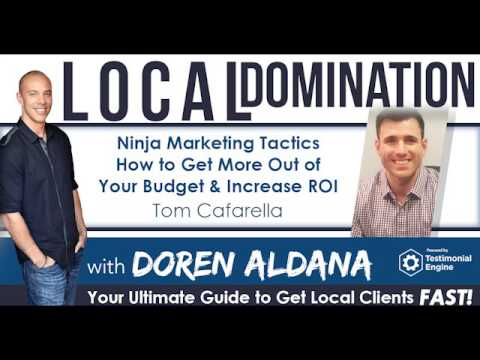 Ninja Marketing Tactics: How to Get More Out of Your Budget & Increase ROI w/Tom Cafarella