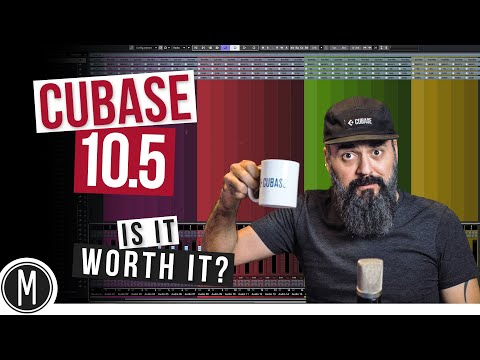 The New CUBASE 10.5 – Is it worth it? A look at my TOP NEW FEATURES!