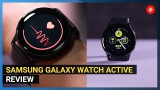 Samsung Galaxy Watch Active Review: Is this worth Rs 19,990?