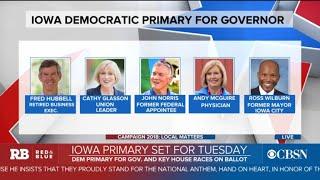 Iowa primary set for Tuesday
