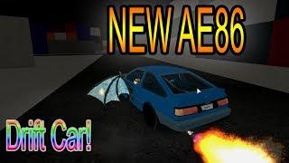 [Roblox: Vehicle Simulator] test nuova auto (AE86)
