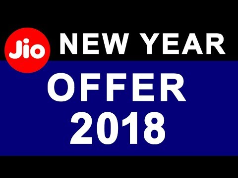 Reliance JIO Happy New Year OFFER 2018 | ₹199 & ₹299 New 4G Data Tariff Recharge Plan
