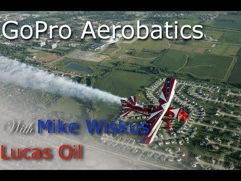 GoPro HD - Aerobatics in Lucas Oil Pitts S2B