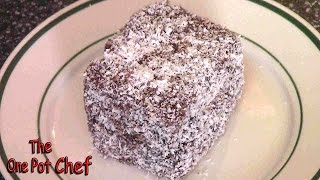 Easy Lamingtons - Recipe