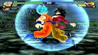 Goku SSJGSSJ and Goku SSJ4 Fusion | Goku SSJ4 God DBZ Tenkaichi 3 (MOD)