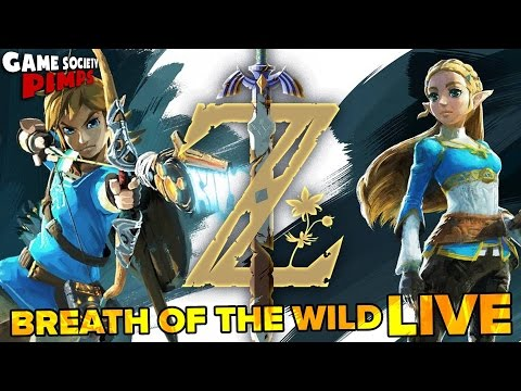 Legend of Zelda Breath of the Wild SWITCH - Game Society