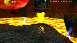Pac-Man World 2 (PC) - Clyde in the Caldera