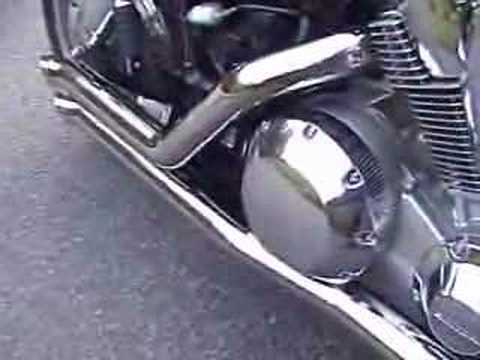 A1acqqYtUfs on honda vtx 1800c bub exhaust