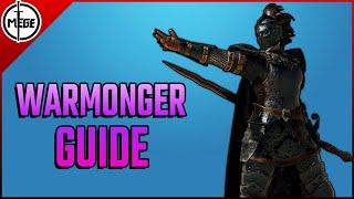 WARMONGER GUIDE - Punishes, Gameplan, 4v4 aฑd more! [For Honor]