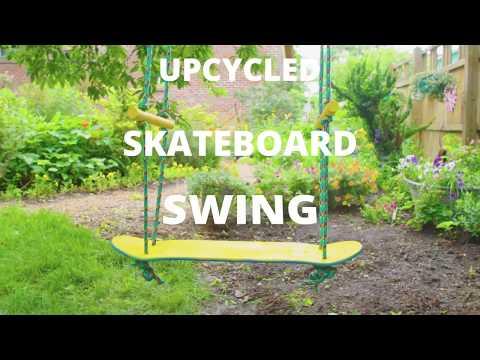 Upcycled Skateboard Swing - DIY Network