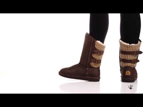 14ca526a1257 Bearpaw Women s Boshie Boots - YouTube