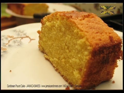 CARIBBEAN POUND CAKE