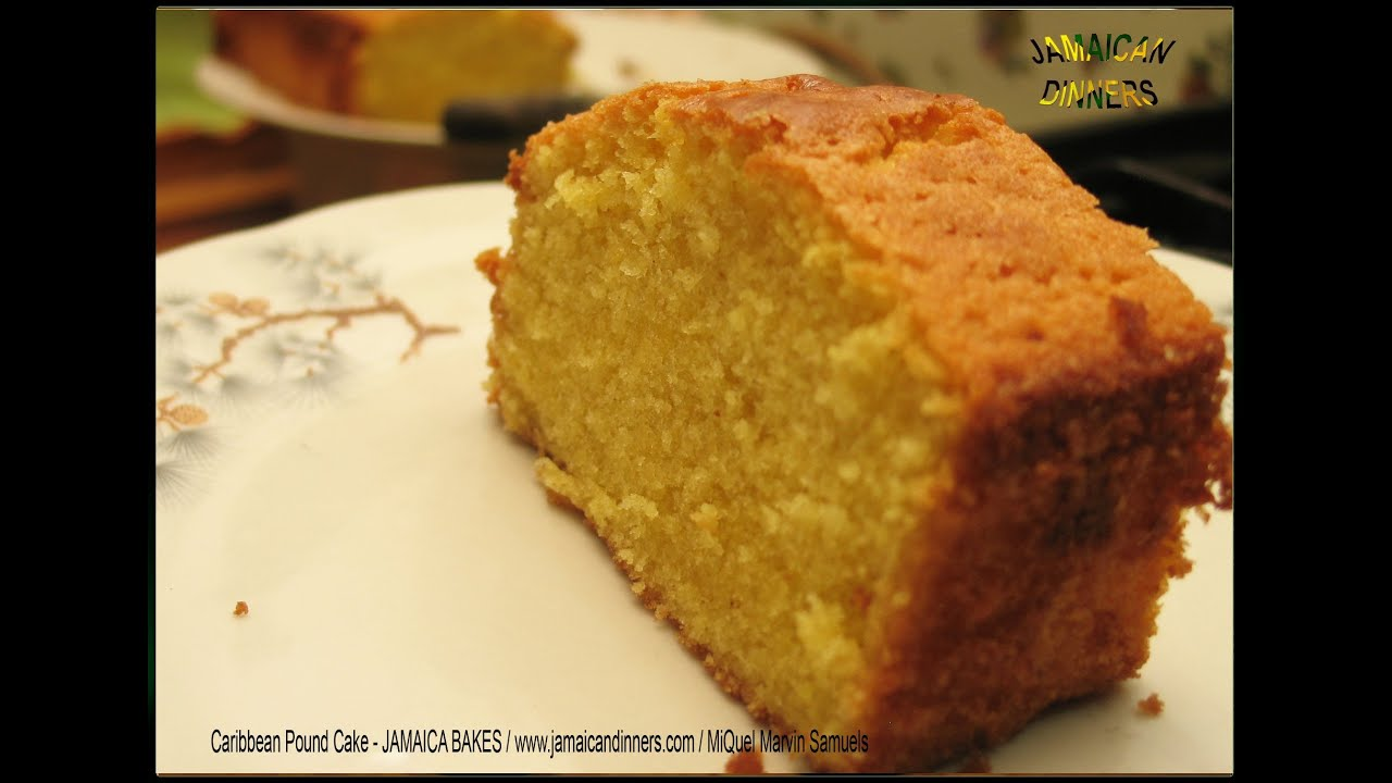 Caribbean Butter Cake Recipe