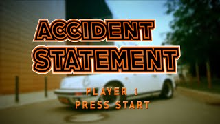 How to establish a car accident report? - info video by LALUX