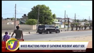 TVJ News: Mixed Reactions From St. Catherine Resident About SOE - September 5 2019