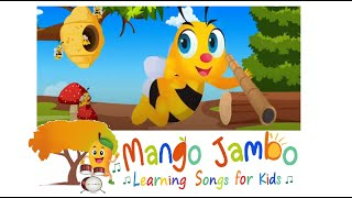 'Busy Bee' kids video song | Nursery rhyme for toddlers to learn | Kids Simple songs & Videos