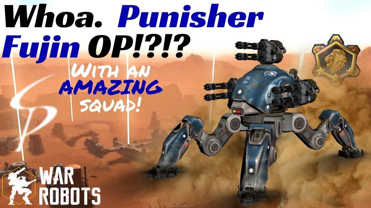 War Robots - Whoa. Punisher Fujin OP!?!? With An AMAZING ...