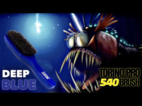 360 Waves: Torino Pro 540 Brush Review - DEEP BLUE Medium Hard Brush (HD)