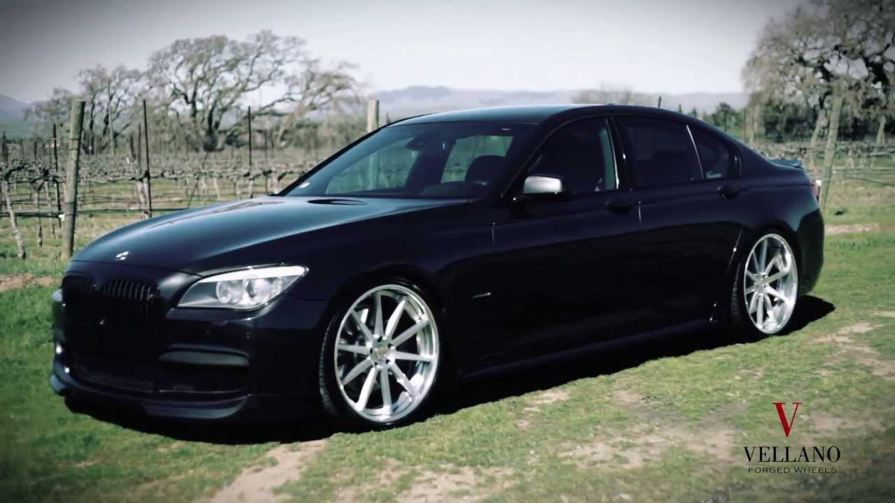 BMW SERIES ON VELLANO WHEELS VSO CONCAVE YouTube - Best bmw 7 series