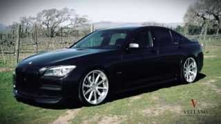BMW 7 SERIES ON VELLANO WHEELS VSO CONCAVE
