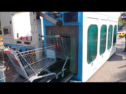Mobile Shopping Cart Auto Washing System_SONAGI_Woori Autowash_2017