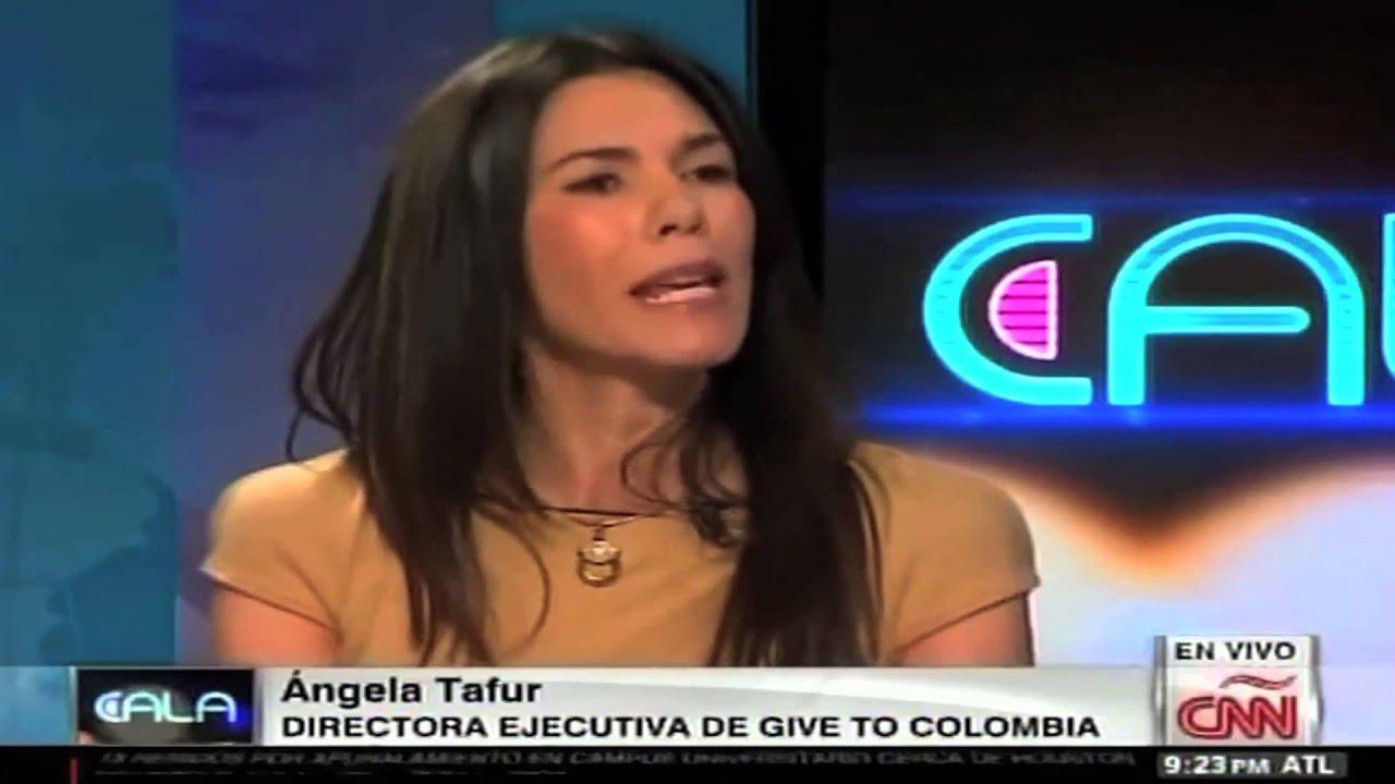CNN en Español – Ismael Cala entrevista a Ángela María Tafur