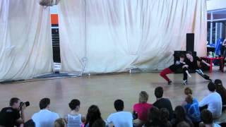 Современные парные танцы (Sia — Chandelier)