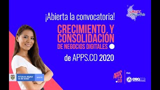 Tutorial de inscripción convocatoria APPSCO