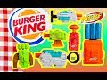 Burger king 2018 nerf guns complete set of 6 fast food toys video review for kids mp3