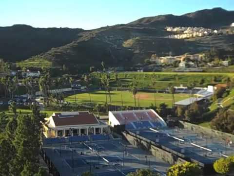 College Visit to Pepperdine University