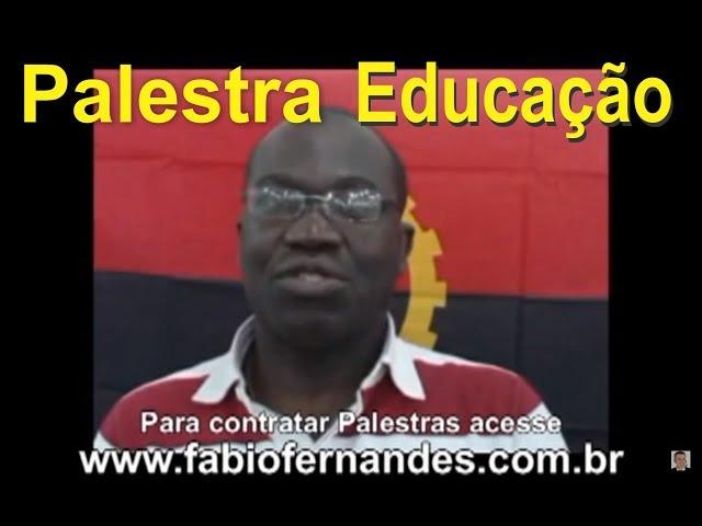Palestras Motivacionais para Educação no Brasil e Exterior | Palestrante Fabio Fernandes