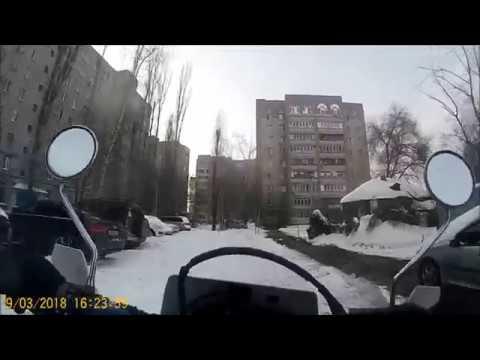 Как ездить на мотоцикле зимой