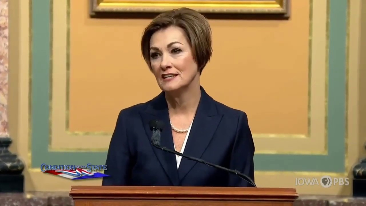 Gov. Reynolds Talks about Fueling the Future at 2020 Condition of the State - Video