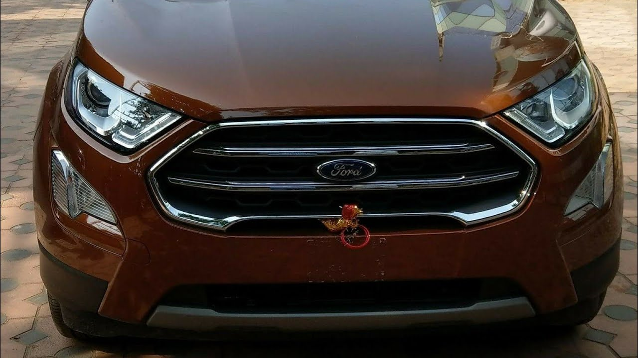 2018 new ford ecosport titanium canyon ridge first look. Black Bedroom Furniture Sets. Home Design Ideas