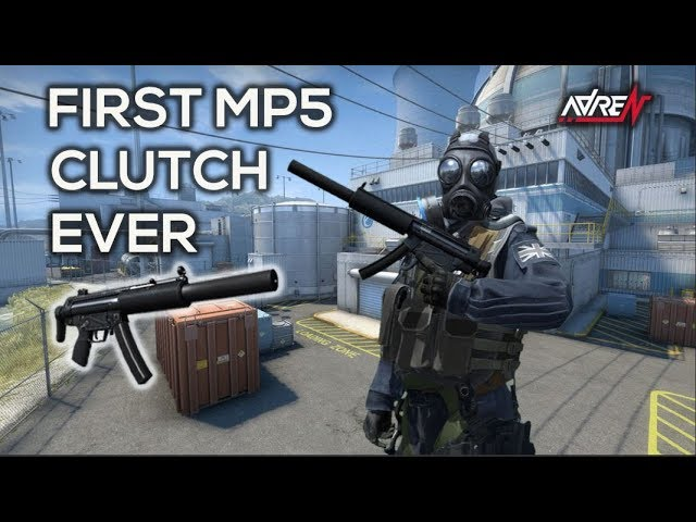 FIRST MP5 CLUTCH EVER CS:GO
