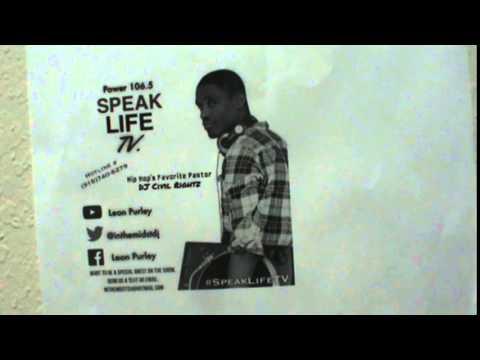 """Pastor Leon Purley-Speak Life Radio-""""Mark The Atheist""""-Ep ..."""