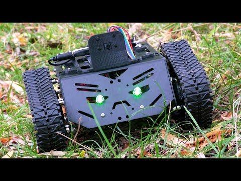 Raspberry Pi Devastator Robot #3 : Camera