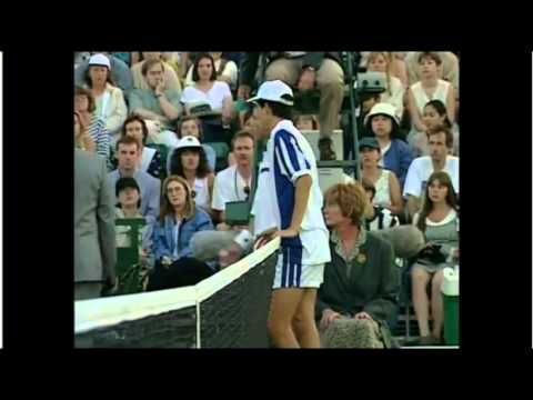 Tim Henman disqualified at Wimbledon