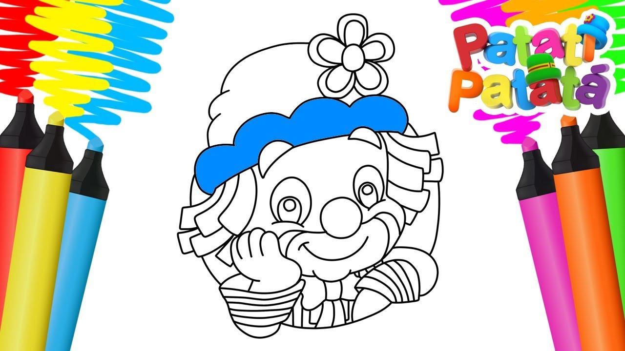 Colorir Patati Patata Desenho Para Pintar Youtube
