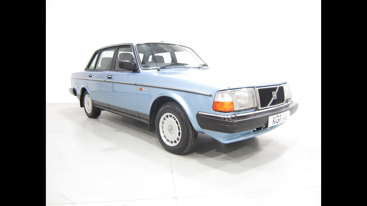 A Meticulously Maintained Volvo 240 Gl With One Owner And Just 67 969 Miles From New Sold