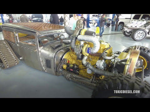 Diesel Cat Engine -Welder Up Las Vegas -