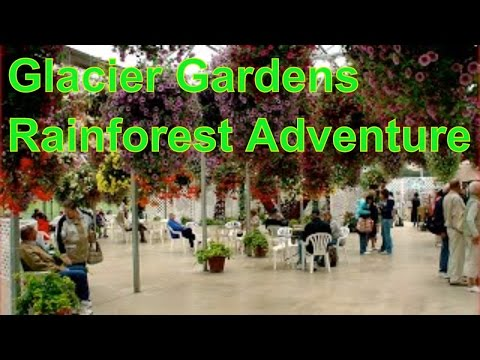 Glacier Gardens Rainforest Adventure, Botanical Garden in  Juneau, Alaska, United States