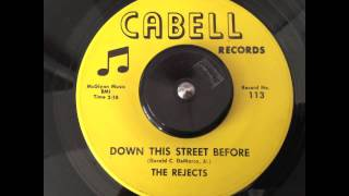 Play Video 'The Rejects - Down This Street Before - Cabell'